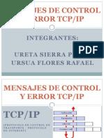 Mensajes de Control y Error TCP/IP