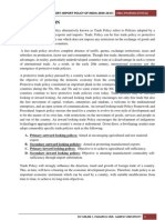 Foreign Trade Policy Project