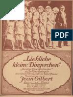 Aardige Lieve Kindertjes (March) - Jean Gilbert (n)