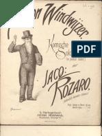 Aaron Windwijzer (Waltz) - Jacques Rozaro (n)