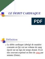 TD n°1 Le débit cardiaque