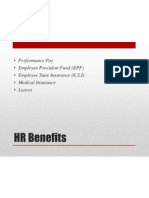Induction About HR Benefits