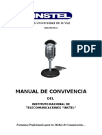 Manual de Convivencia Instel - Cali