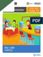 CREA TU EMPRESA Bar Cafe Rustico