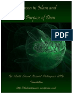 Women in Islam and The Purpose of Creation by Mufti Saeed Ahmad Palanpuri (DB)