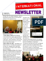 International Newsletter Summer2012