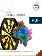 CRISIL Insights - Five Investment Strategies for Uncertain Times June 2012
