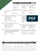 Mathematics Test 26