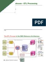 04-1 DWh Data Warehouse - ETL