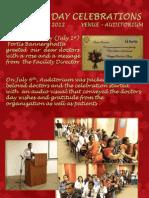 Doctor's Day 2012 Celebration Fortis Bangalore