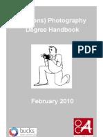 Photography Degree Handbook