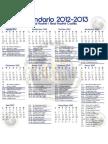 Calendario Liga y Champions 2012-2013 Real Madrid y Castilla