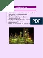 Gas Separation Plant