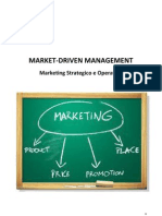Market Driven Management Marketing Strategico Ed Operativo