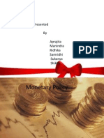 Monitary Policy
