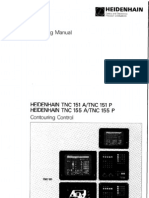 Heidenhain TNC 151 155 Operating Manual
