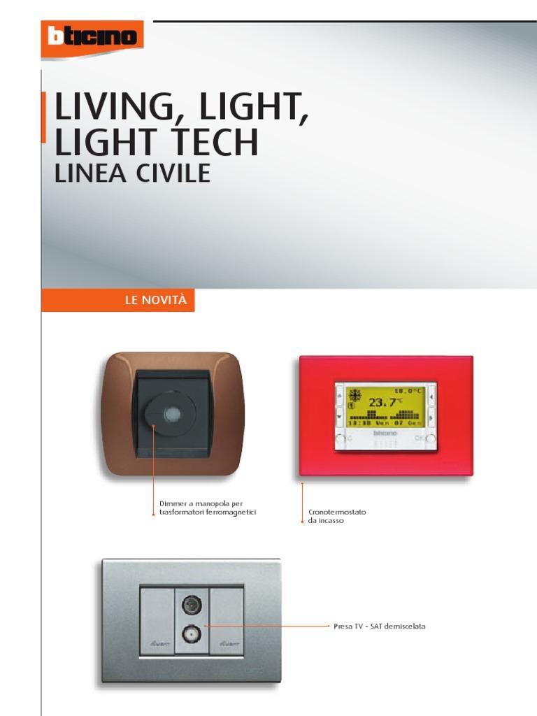 Schemi Elettrici Bticino : Catalog bticino