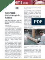 Artículo sobre madera reforzada
