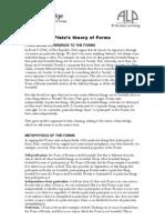 Plato Theory Forms