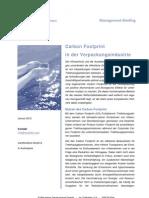 Carbon Footprint in Der Verpackungsindustrie