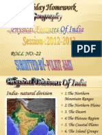 Ppt Physical Features of India