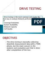 DRIVE TESTING.presentation