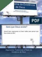 O Problema da Existência de Deus