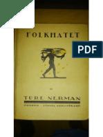 Ture Nerman, Folkhatet 1918