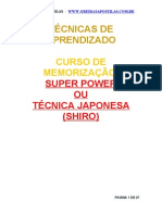 (APOSTILA) Memorização Super Power