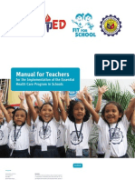 Manual for Teachers for the Essential Health Care Program in Filipino Schools