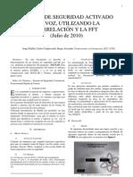 Sistema de Seguridad Activado Por Voz Utiizando La Correlacion y La FFT_Jorge_Padilla_Carlos_Campoverde
