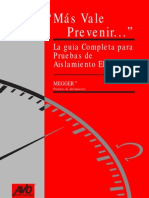 Guia de Pruebas Aislamiento - Megger