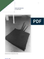 Die Fettecke, Text zu Joseph Beuys