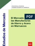 Mercado de Acero en Marueco