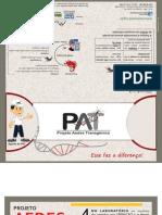 Folder Explicativo Sobre o Projeto Aedes Transgenico - PAT