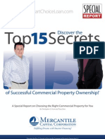15 Secrets of Successful Commercial Property Ownership