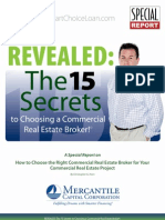 15 Secrets to Choosing a Commercial Real Estate Broker