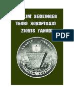 Muslim Keblinger Teori Konspirasi Zionis Yahudi