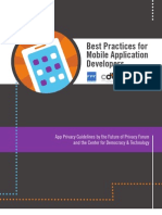 Best Practices for Mobile App Developers