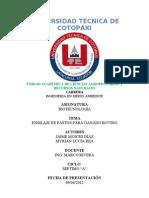 Informe de Biotecnologia 01