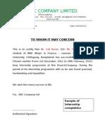 Wonderful Summer Internship Completion Certificate Format Inside Project Completion Certificate Format