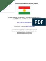 Biblical Texts and Christian Publications in Kurdish Kurmanji