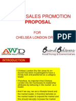 Chelsea Sales Promotions 2012