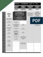 Grey Fox 2012 Final Schedule