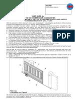 1 Safety Guide for Sliding Gates GB Ottobre05