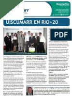 Newsletter Especial RIO+20 UISCUMARR