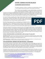 Welfare Reform - Exec Summary - Final
