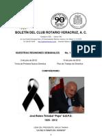 Boletín Rotario del 3 de julio de 2012