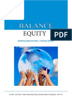 Balance Equity - Retail Investors