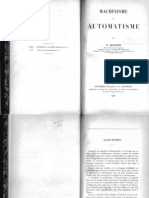 P. Maurer, Machinisme Et Automatisme (1927)